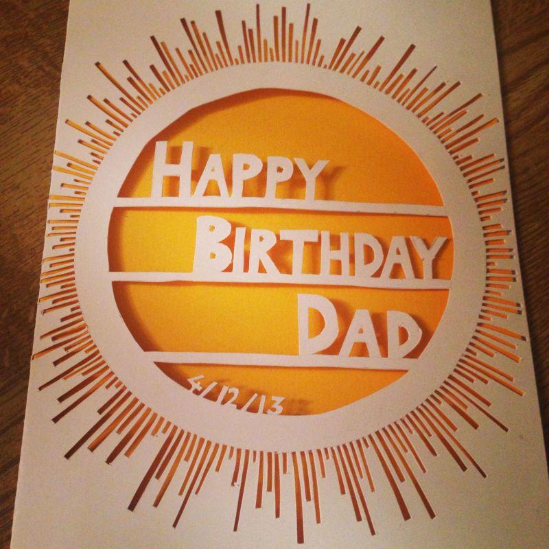 Dads birthday card art ideas pinterest dad birthday