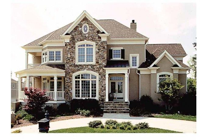 American Houses On Pinterest