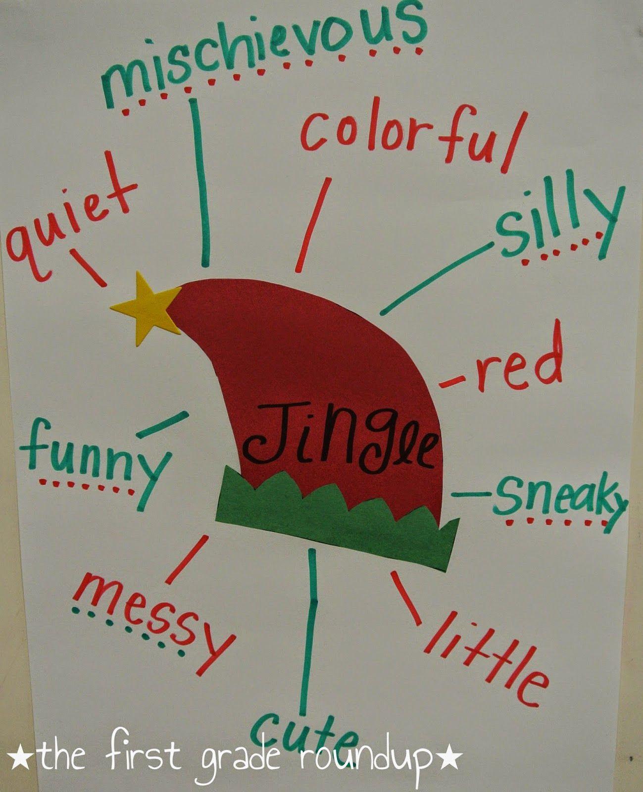 More Elf Festivities Elf Adjectives