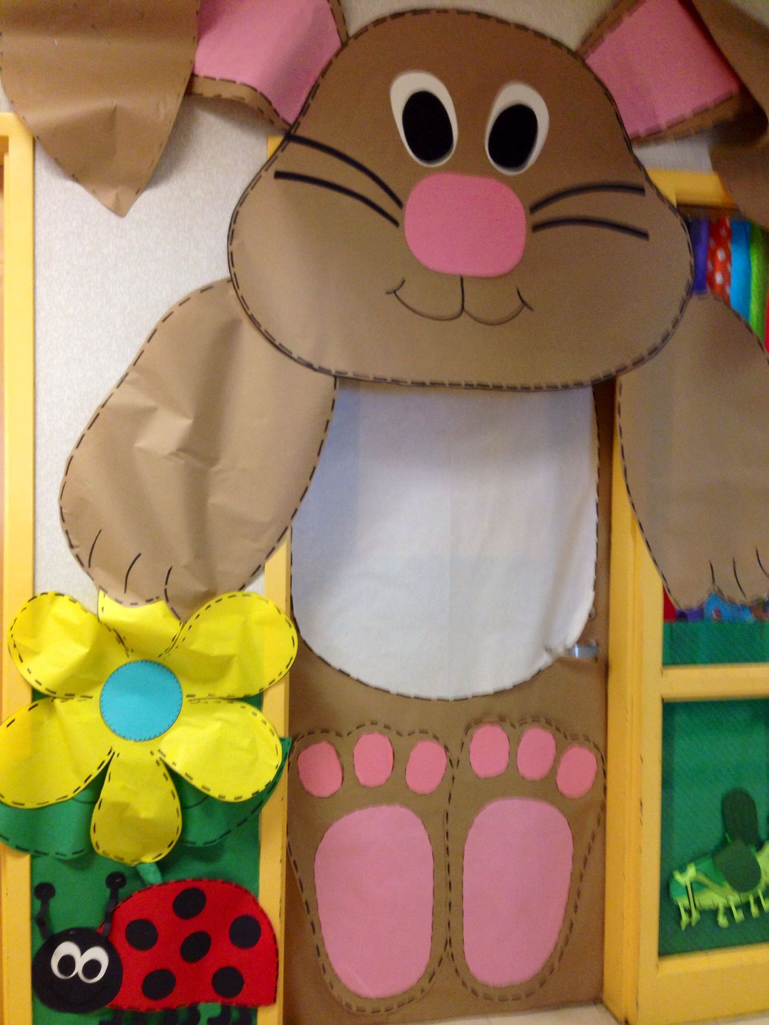 Classroom Door For Easter