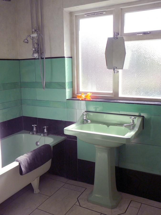 Classic Age D 233 Cor For Your Bathroom Green And Black