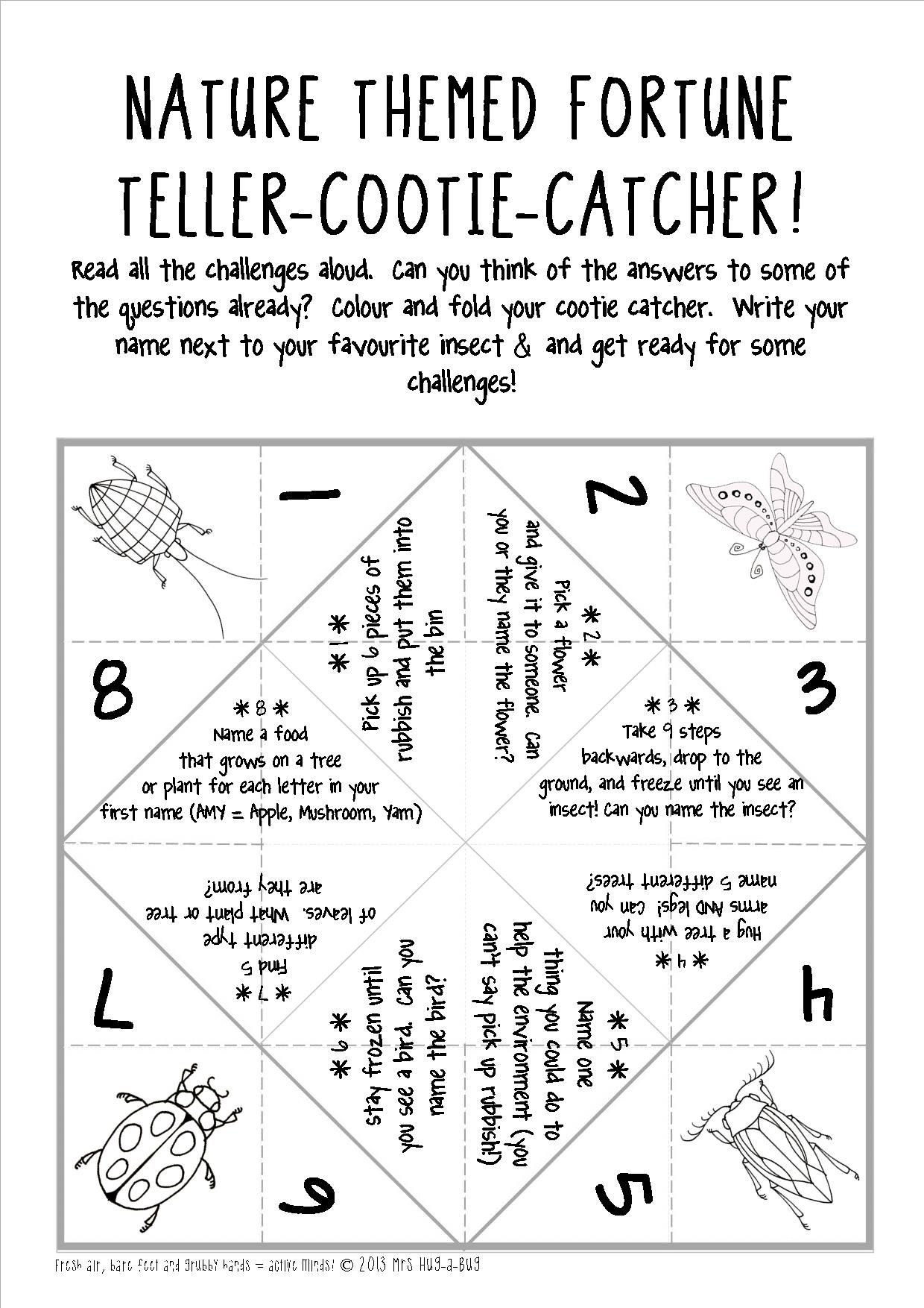 Freebie A Great Outdoor Ice Breaker Activity To Get Your