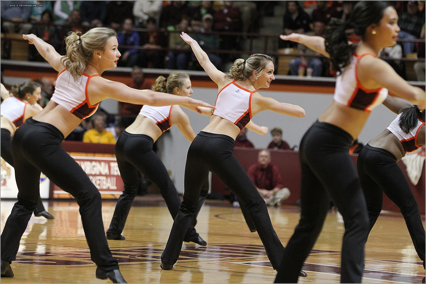 Virginia Tech's High Techs Dance Team. 2013.03.02. Clemson