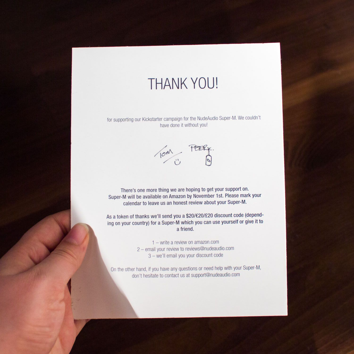 Thank You note Packaging + Online Orders Pinterest