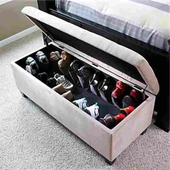 Storage Ottoman Bench Bedroom House Pr - Bedroom Storage Benches Uk - Bedroom Style Ideas