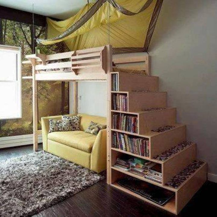 15 Examples Of The Super Cool Loft Bed For Grownups