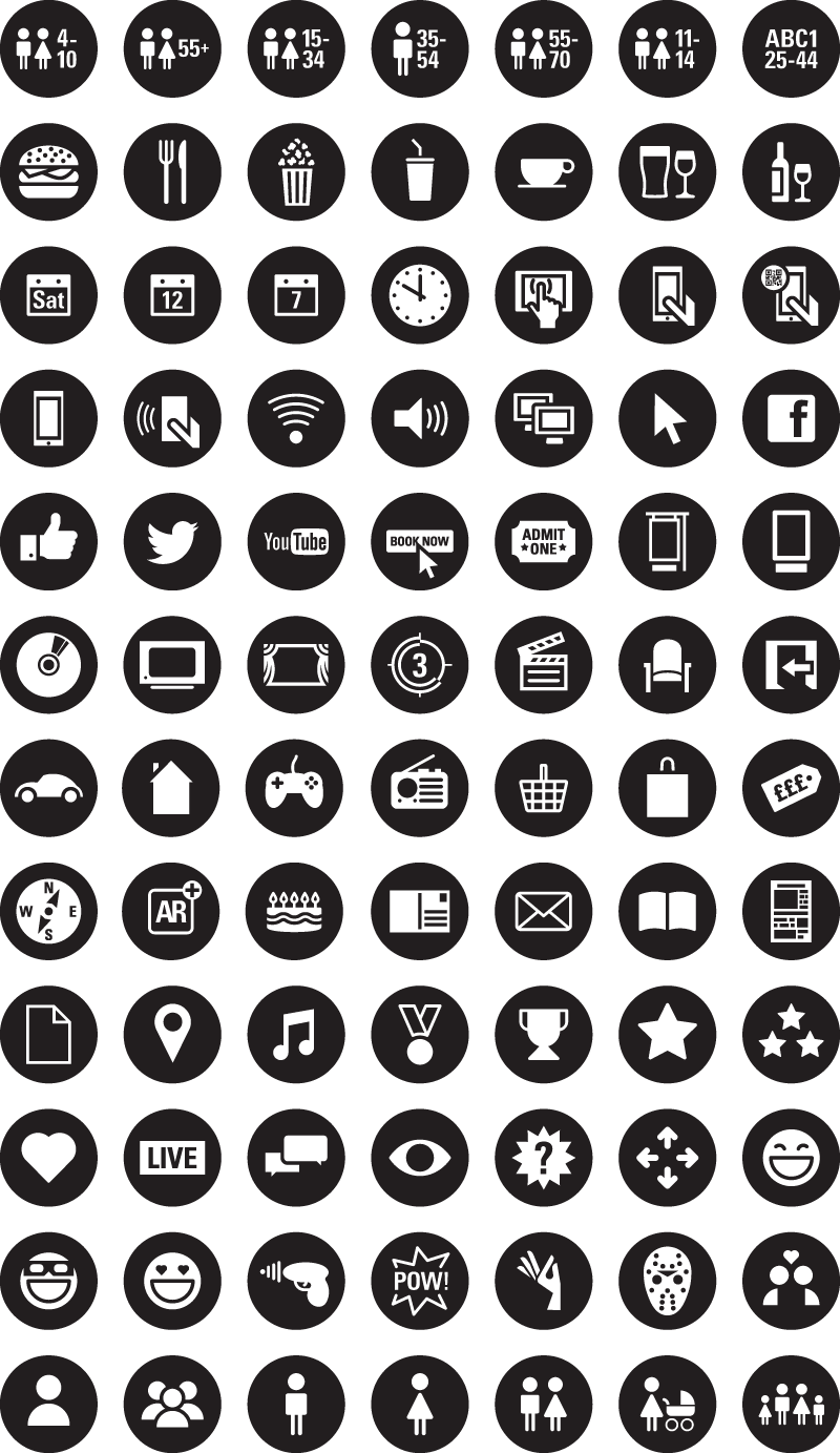 DCM Icons & Characters Proud Creative resources