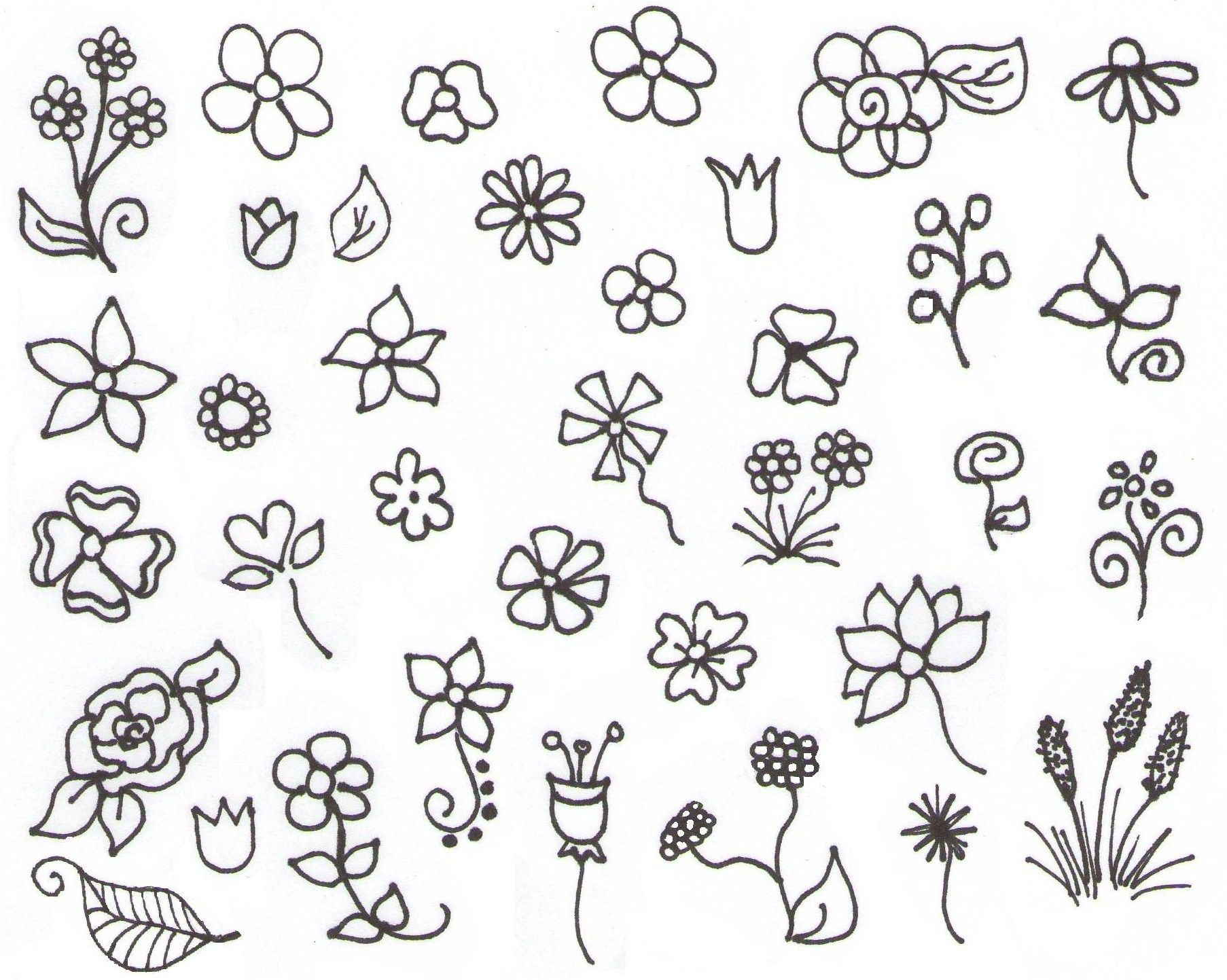 My Inspiration Flower Doodles