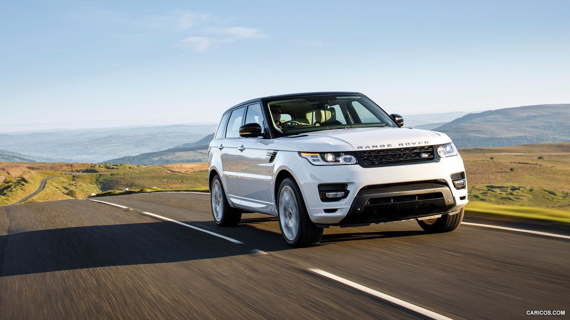 2014 Range Rover Sport Autobiography Fuji White Front