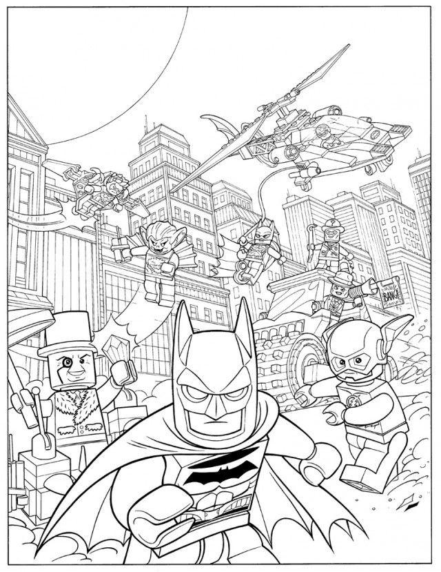 lego batman coloring page  az coloring pages  lego
