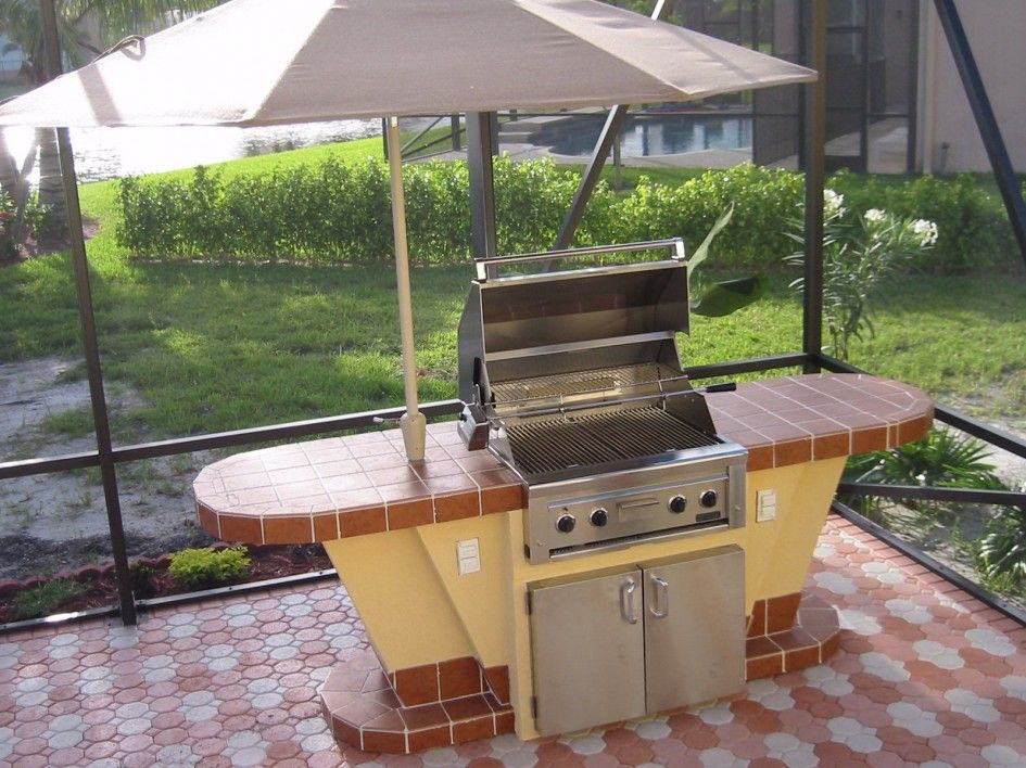 Outstanding Outdoor Kitchen San Antonio Texas with Built