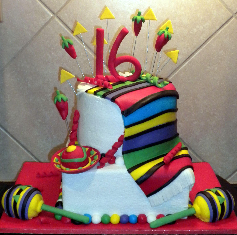 Mexican Fiesta 16th Birthday