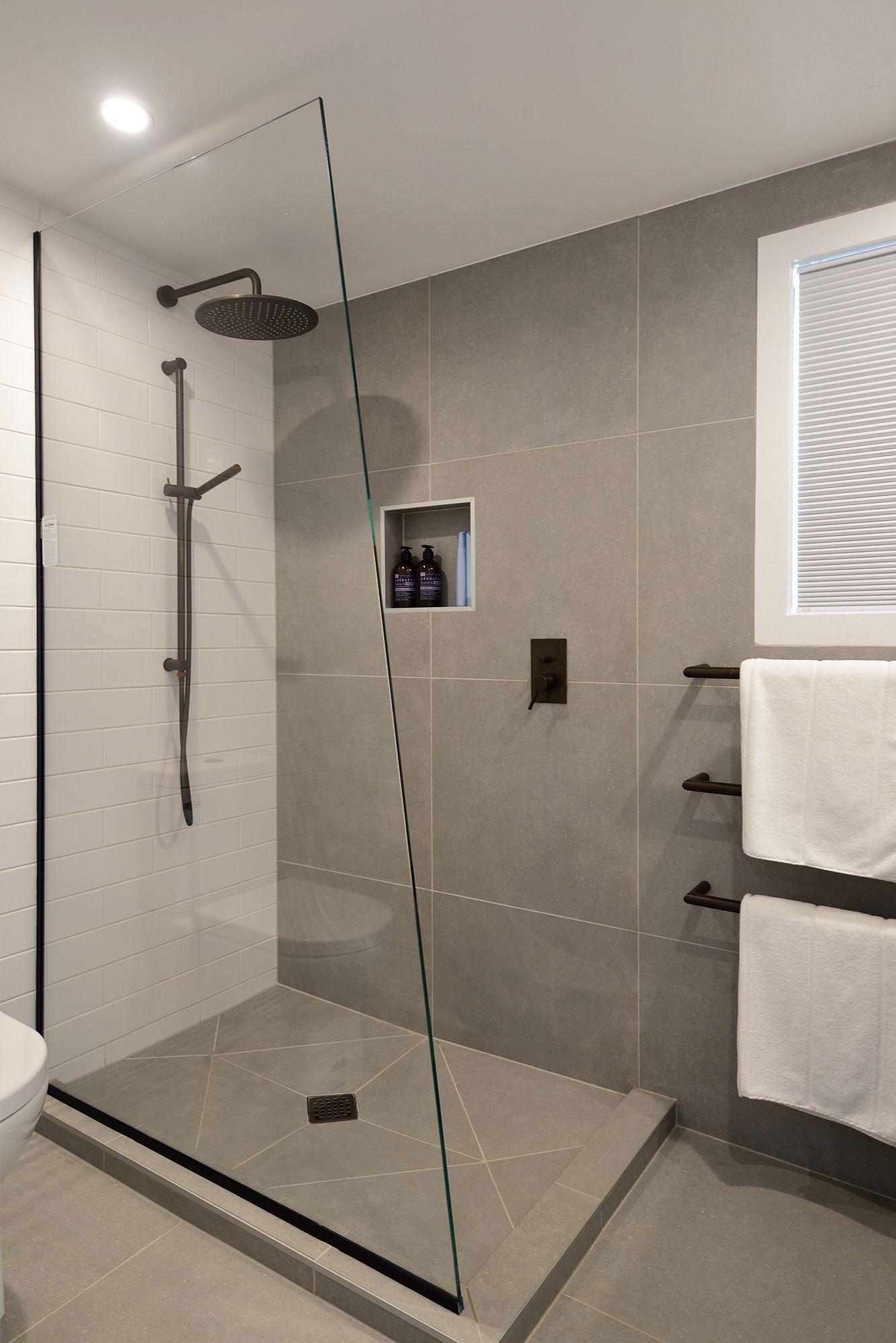 Shower Walls and Floor Grigio Tecno 600 x 600 https//www