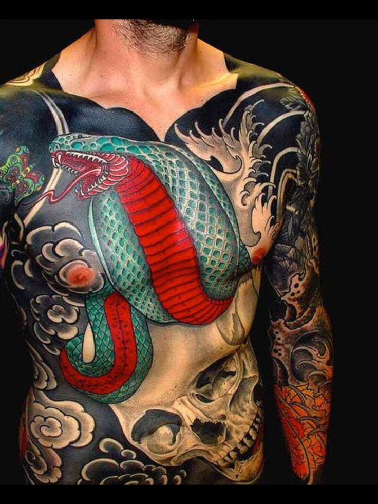 22 Snake Tattoos With Impressive Meanings Snake tattoo