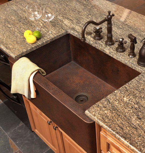 Best 25 Copper Farmhouse Sinks Ideas On Pinterest