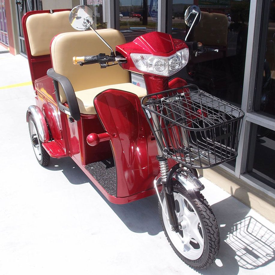 GT Tandem Rumble Seat Mobility Scooter Transportation