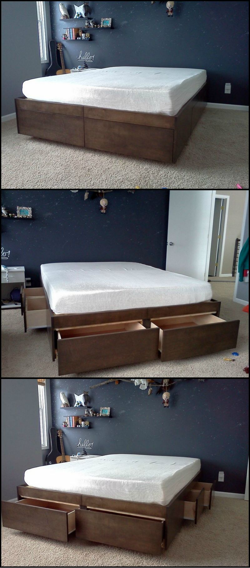 How To Build A Bed With Drawers Do you need more storage