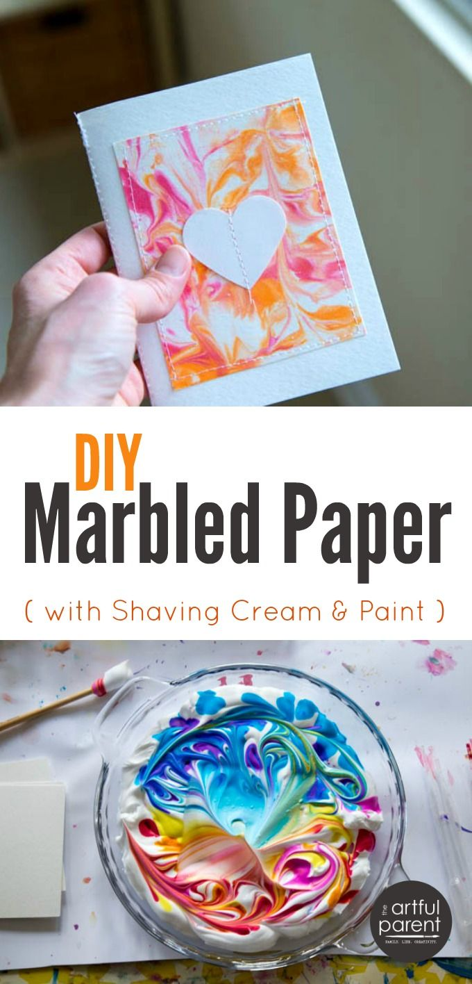 DIY Marbled Paper The Best, Easiest, & Cheapest Method