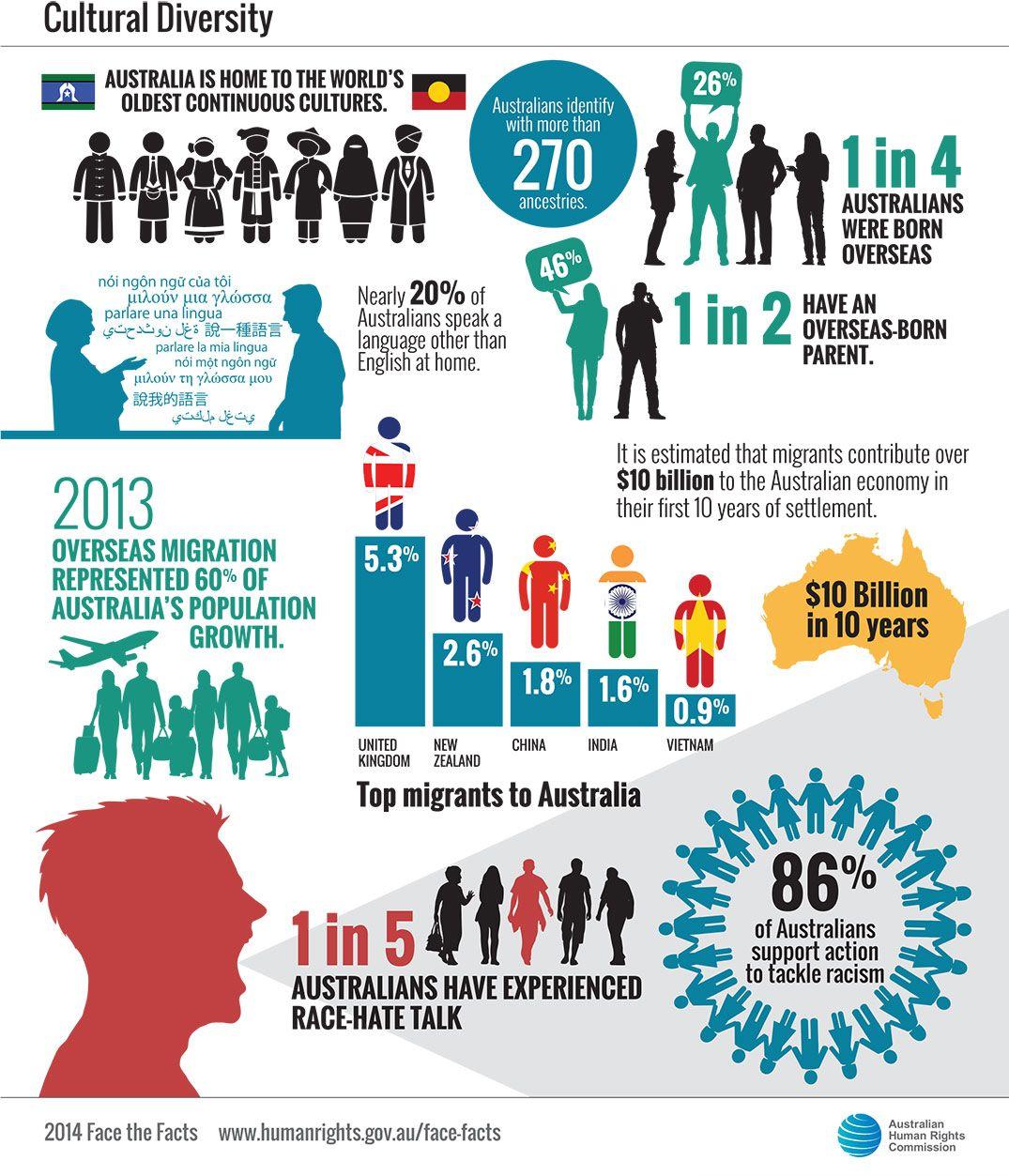 Cultural Diversity Statistics