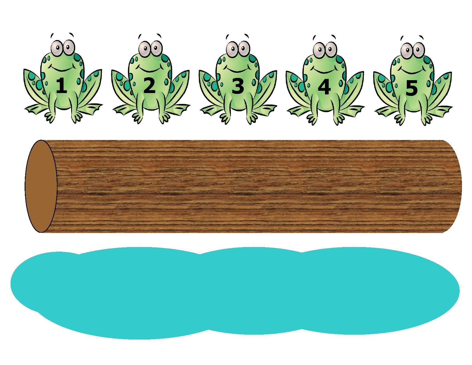 Five Green And Speckled Frogs Fingerplay Is A Fun Way To Introduce The Concept Of Subtraction To