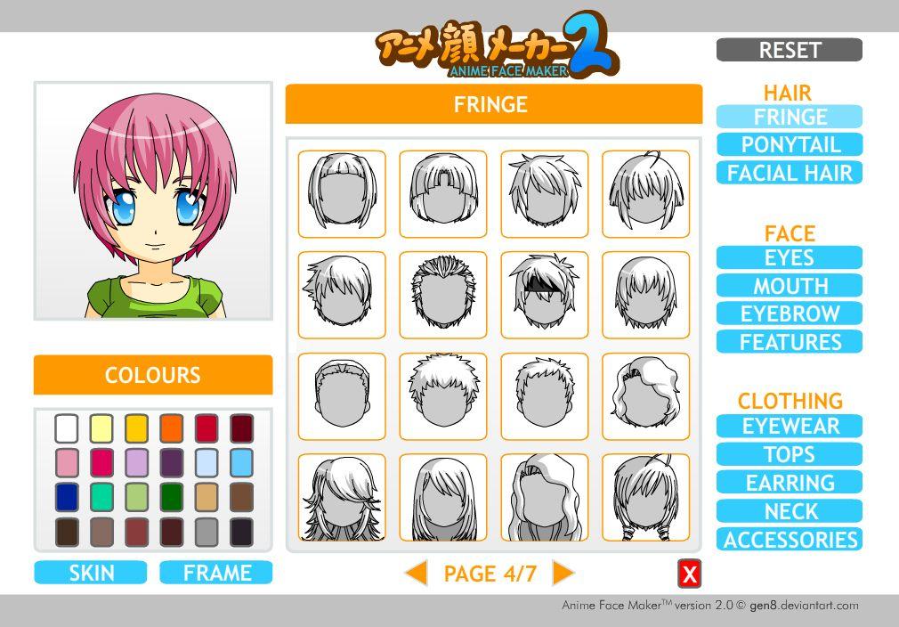 avatar maker Web Arcade Mood Board Pinterest Avatar