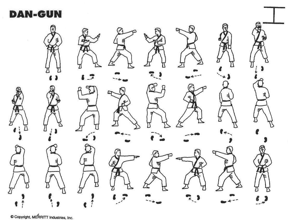 Dan Gun Yellow Belt Form