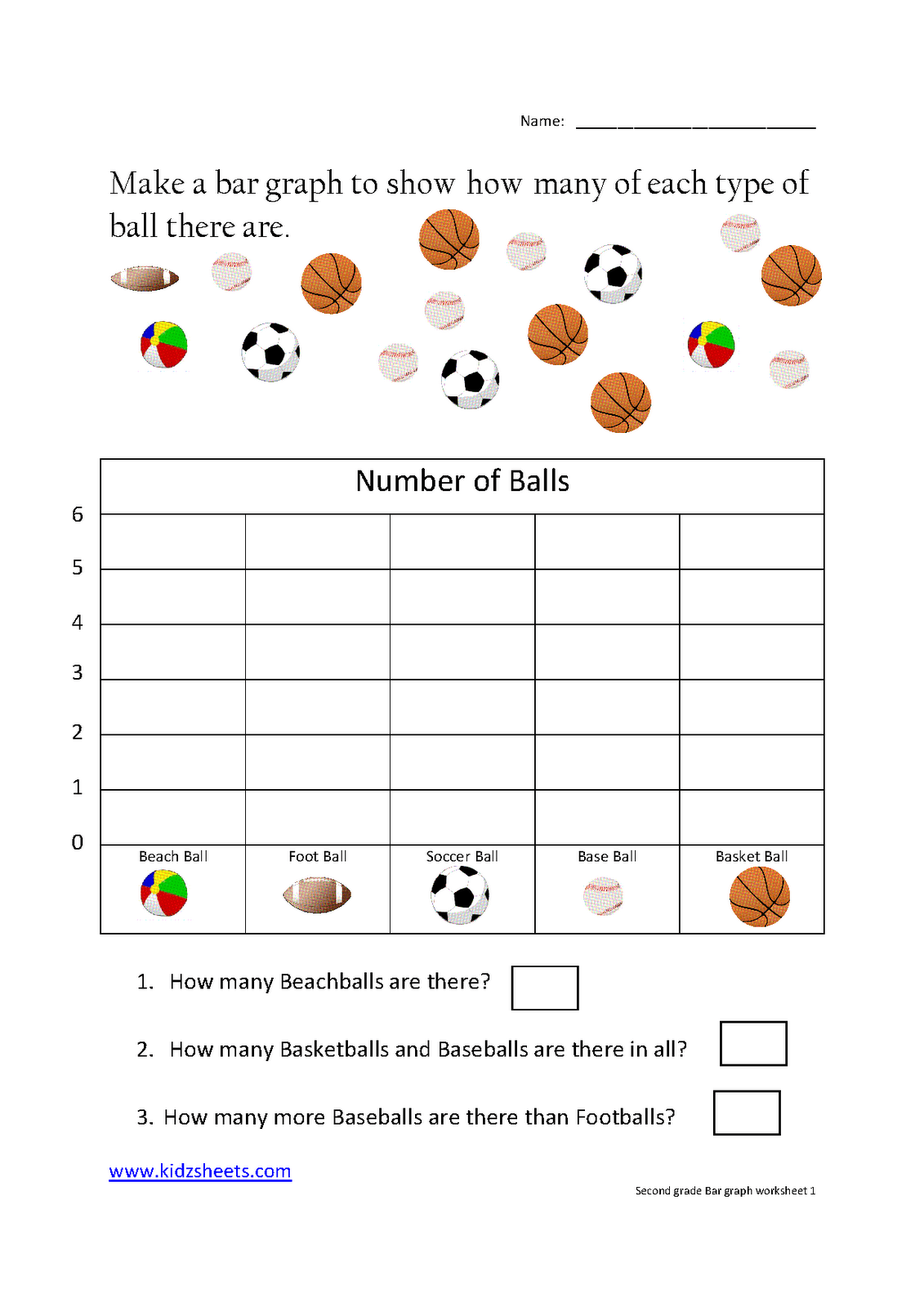 Math Worksheet Graphs Charts