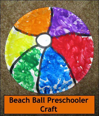 Beach Ball Crafts On Pinterest