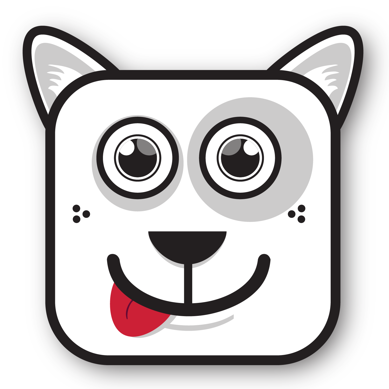 dog011.png (1500×1500) reductive form Pinterest Dog
