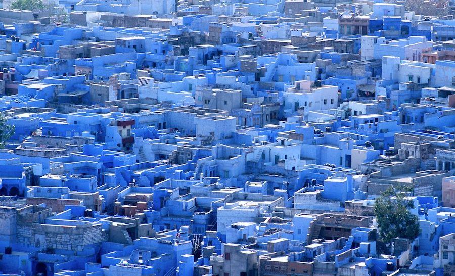 Jodhpur The Blue City in Rajasthan, India o u t s i d