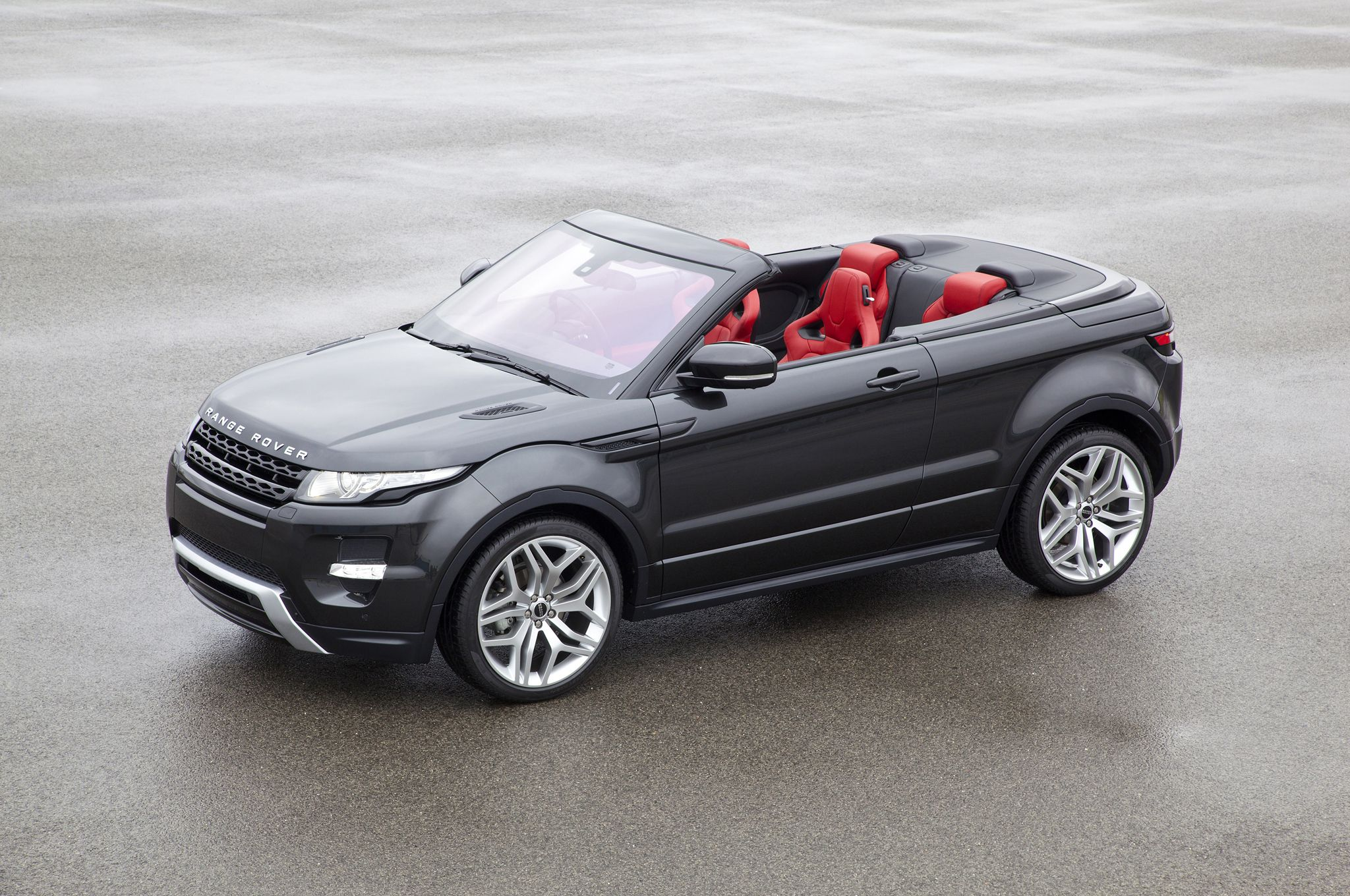Land Rover is ing out with a new drop top SUV
