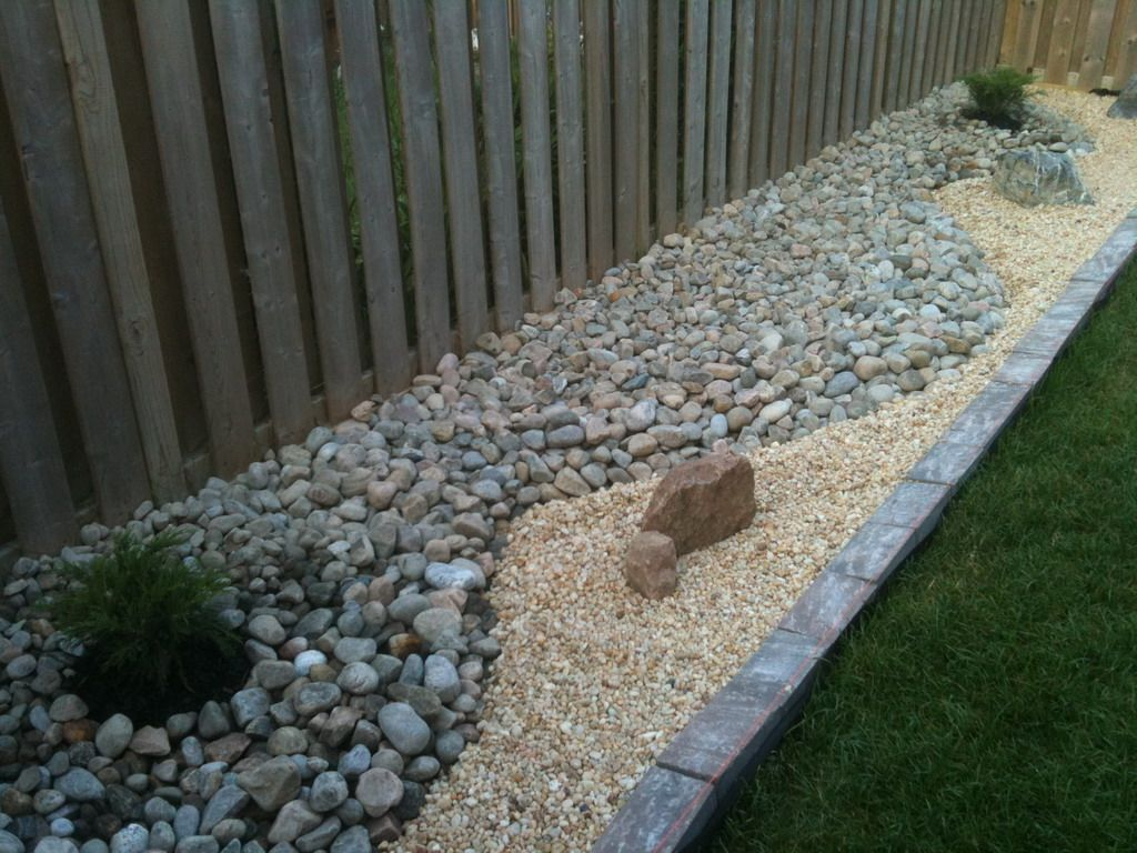 diy rock garden I like the use of different kinds of rock