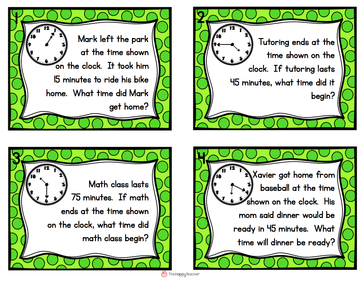 Elapsed Time Practice 3rd Grade Worksheets