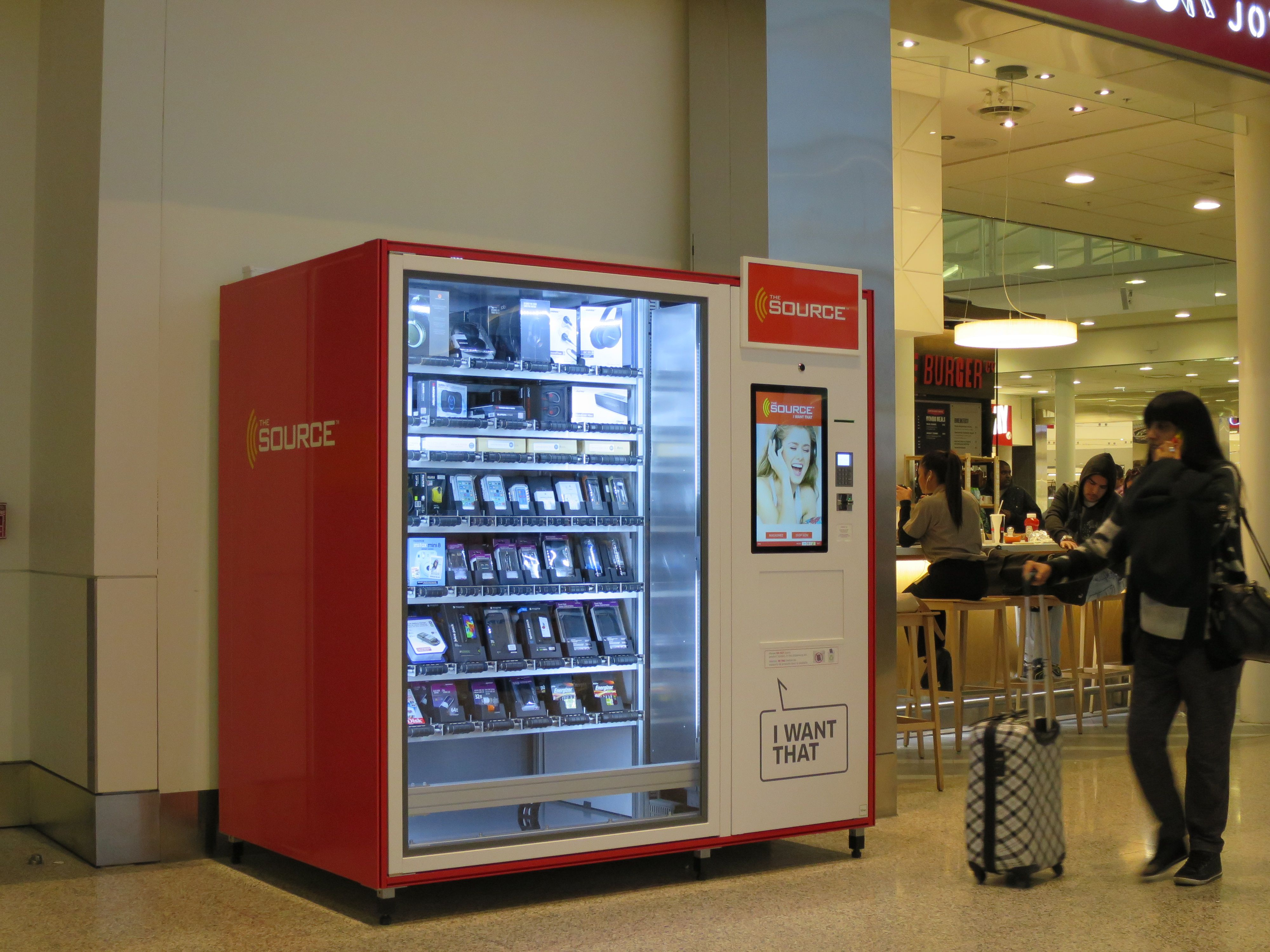 The Source replaces The Best Buy machines at Toronto