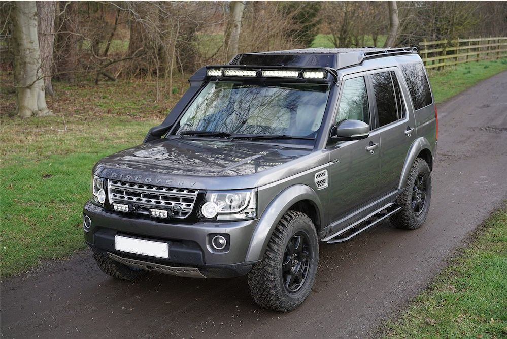 ProSpeed Discovery 4 build Explore, Land rovers and Cars