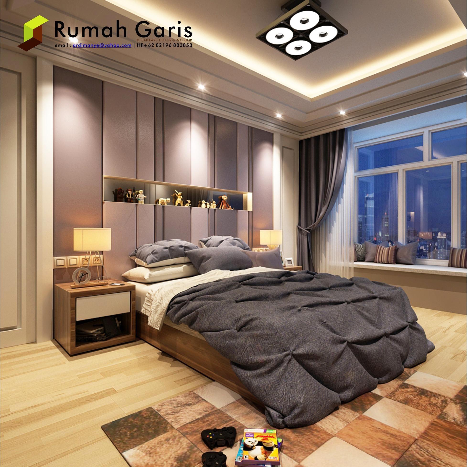 interior kamar anak desain by rumah garis konsultan