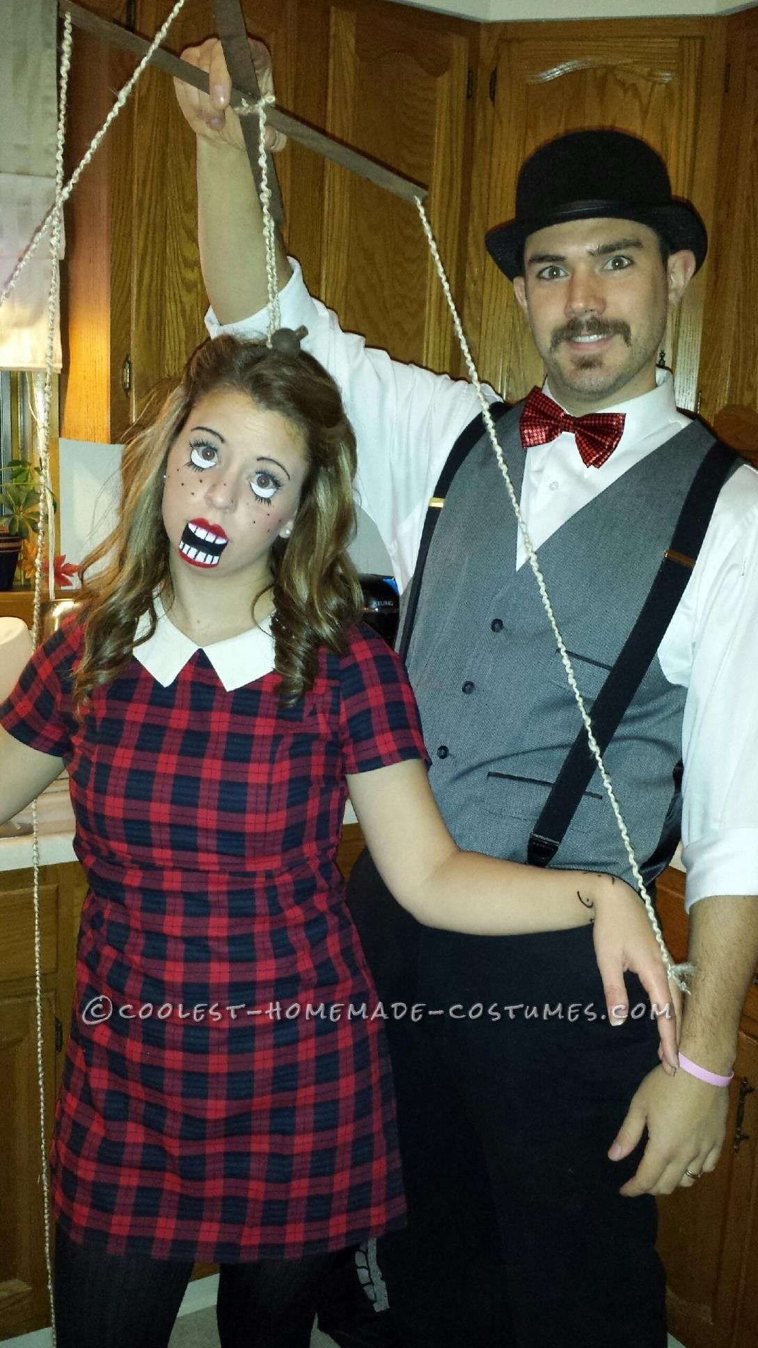 Fun and Unique and Puppet Master Couple Costume