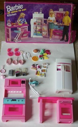 Barbie So Much To Do Kitchen Dolls I Used To Play