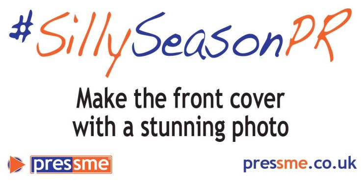 Make the front cover with a stunning photo #SillySeasonPR