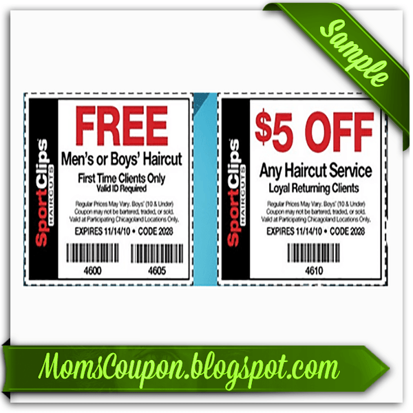 printable Sports Clips coupon 10 February 2015 Local