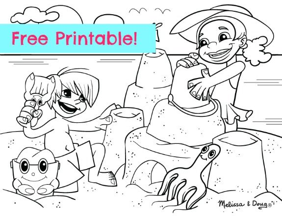 beach scenes beaches and free coloring sheets on pinterest