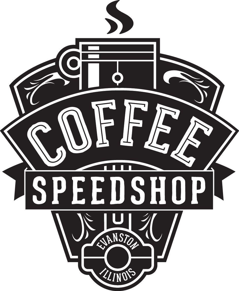 Coffee Speed Shop About Us Retro & Vintage Badges