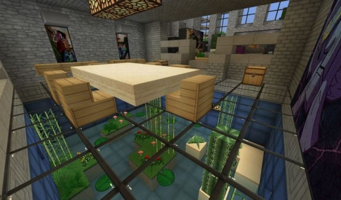 Amazing Living Room Ideas In Minecraft House Design Within