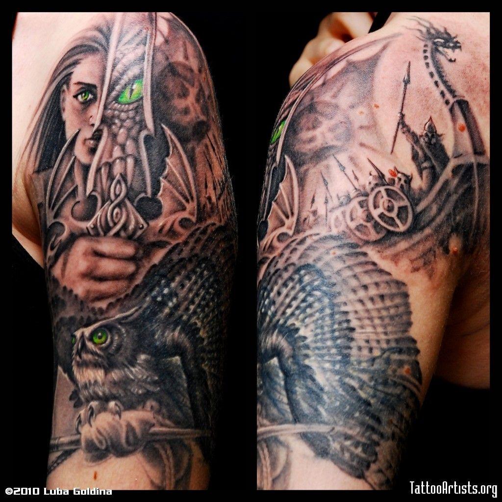 War Woman Tat Ink Desire Pinterest Celtic warrior