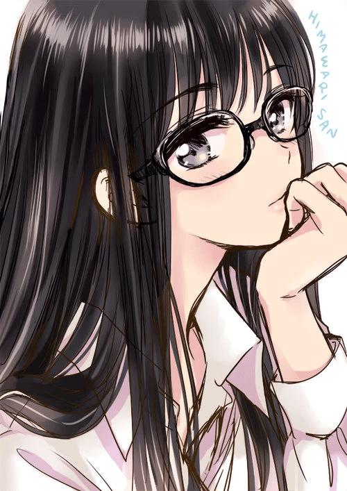 Kết quả hình ảnh cho cute anime girl with glasses Anime