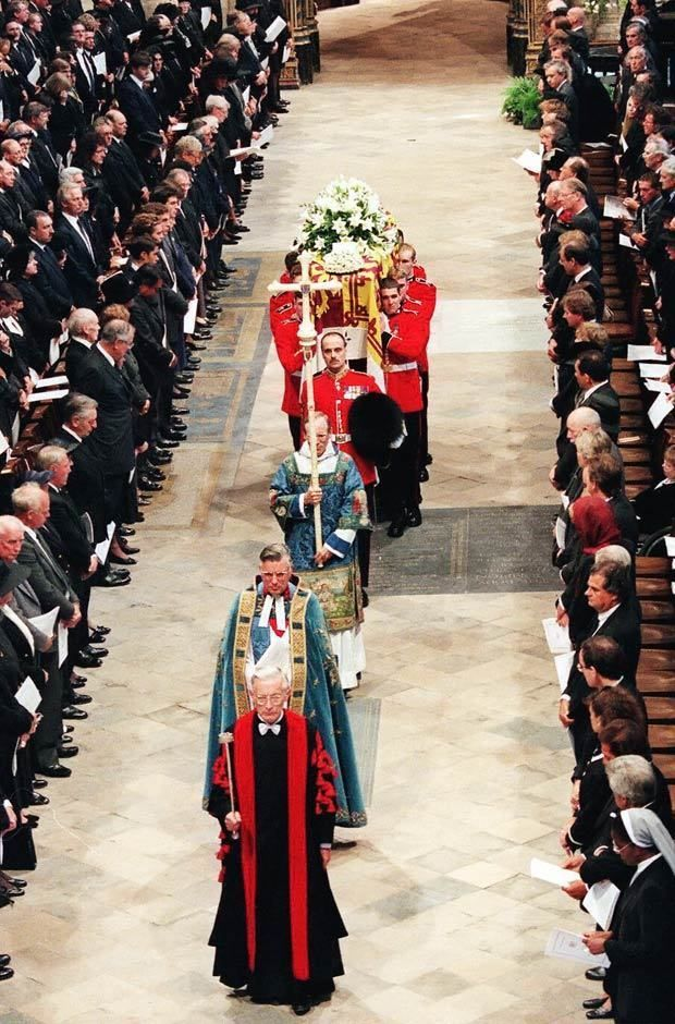 Princess Diana Funeral at Westminster Abbey Dazzling