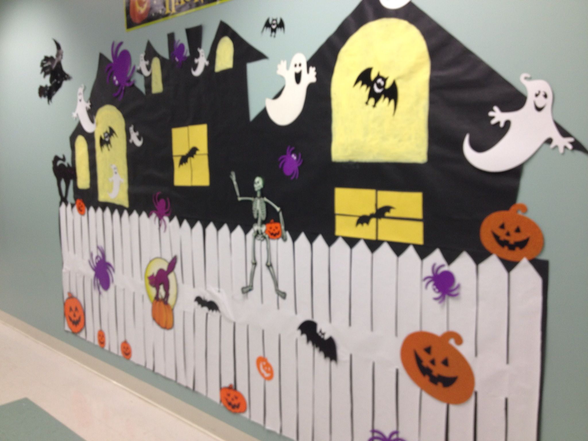 Haunted House Craft For School Halloween Party