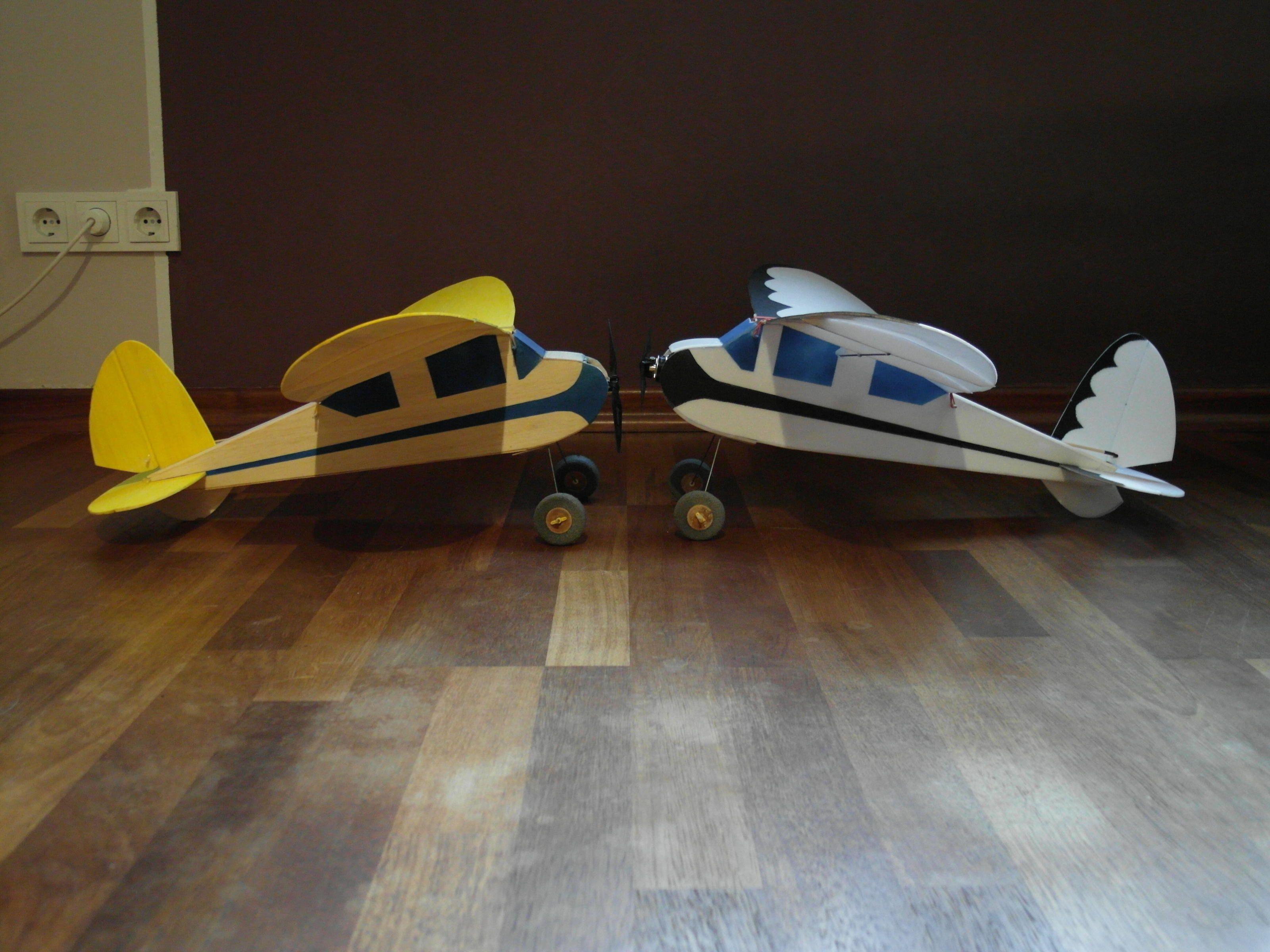 Jupiter Scout Balsa vs. Depron Radio Control Airplanes