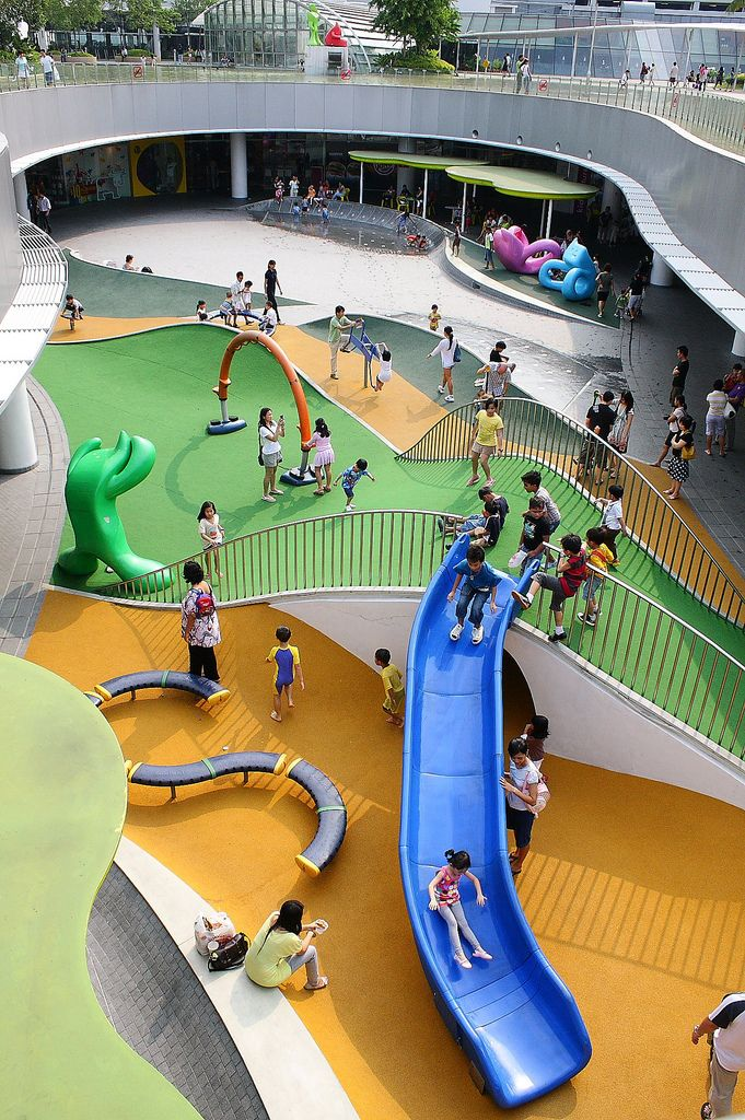 Shopping mall playgrounds in Singapore guide for parents