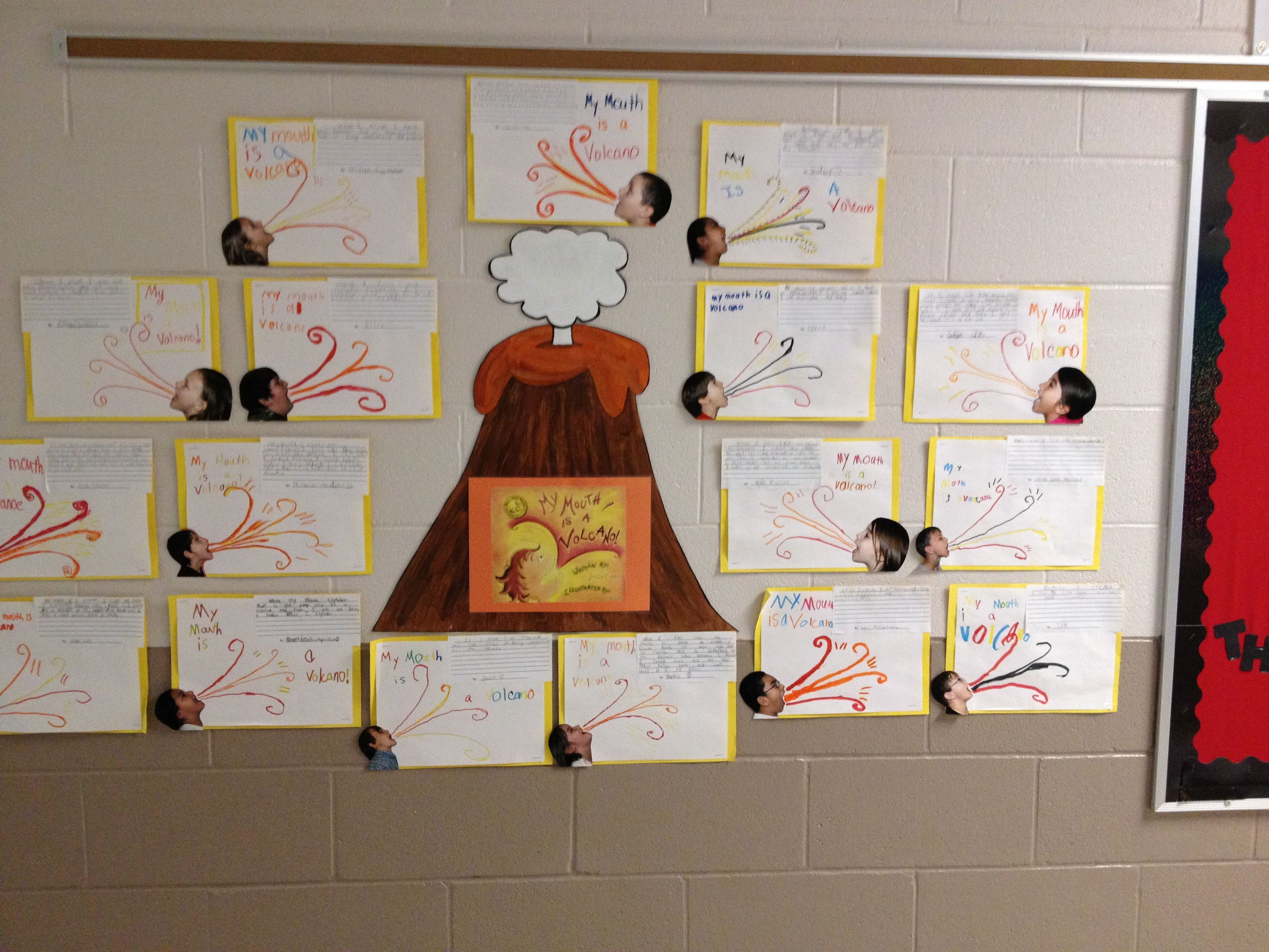 This Is Our Version Of This Leadership Activity We Read The Book My Mouth Is A Volcano I